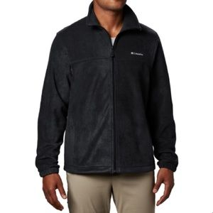 Columbia fleece full zip jacket large